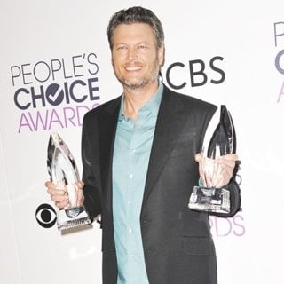 Blake Shelton in People's Choice Awards 2017 - Press Room