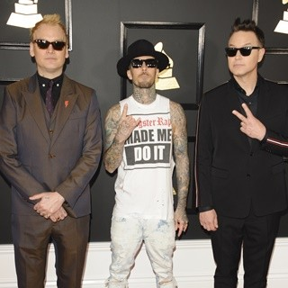 Blink-182 in 59th Annual GRAMMY Awards - Arrivals