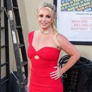 Britney Spears in Once Upon a Time in Hollywood Premiere