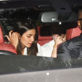 Priyanka Chopra, Nick Jonas in Nick Jonas and Priyanka Chopra Visit An Orphanage