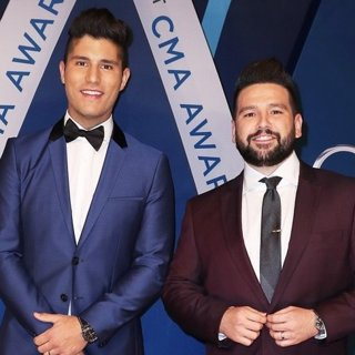 Dan + Shay in 51st Annual CMA Awards - Arrivals