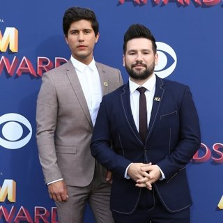 Dan + Shay in 53rd Academy of Country Music Awards - Arrivals