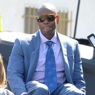 Dave Chappelle on The Set of A Star Is Born Filming