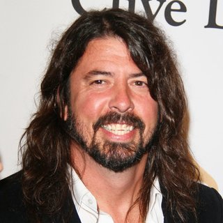 Dave Grohl, Foo Fighters in Clive Davis 2016 Pre-Grammy Gala - Arrivals