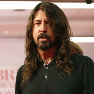 Dave Grohl, Foo Fighters in The BRIT Awards 2018 - Press Room