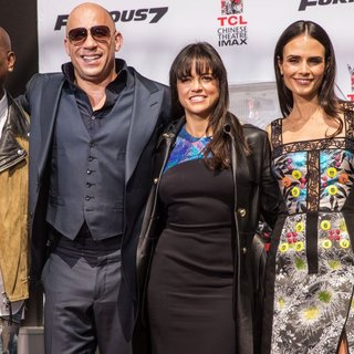 Vin Diesel's Hand-Print and Foot-Print Ceremony