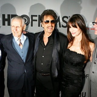 Dr. Jack Kevorkian, Al Pacino, Lucila Sola, Barry Levinson in Premiere of HBO Films' 'You Don't Know Jack'