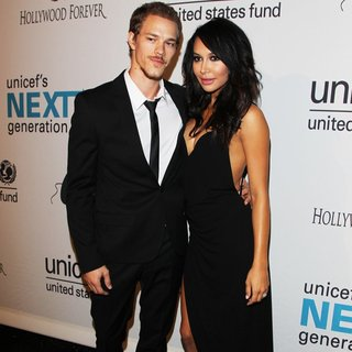 Ryan Dorsey, Naya Rivera in Next Generation's 2nd Annual UNICEF Masquerade Ball - Arrivals