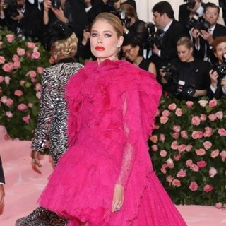 Doutzen Kroes in The 2019 Met Gala Celebrating Camp: Notes on Fashion