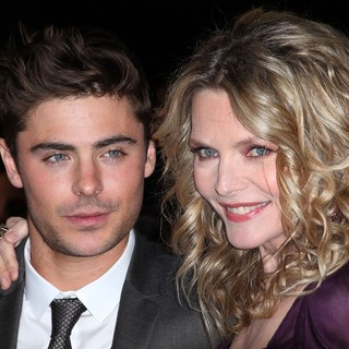 Zac Efron, Michelle Pfeiffer in Los Angeles Premiere of New Year's Eve