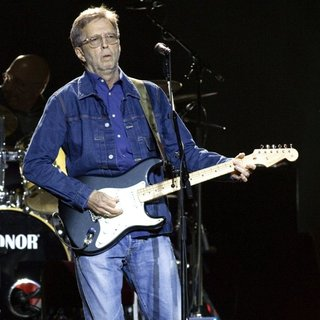 Eric Clapton in Eric Clapton Performs at The SSE Hydro within The Scottish Exhibition and Conference Centre