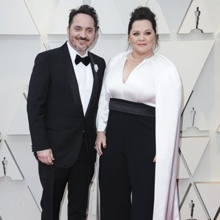 Ben Falcone, Melissa McCarthy in 91st Annual Academy Awards - Arrivals