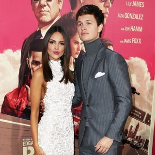 Eiza Gonzalez, Ansel Elgort in Los Angeles Premiere of Sony Pictures' Baby Driver - Arrivals