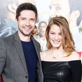 Topher Grace, Ashley Hinshaw in Premiere of Warner Bros. Pictures' Fist Fight