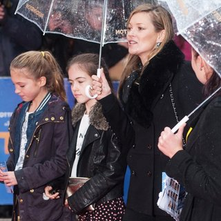Lila Grace, Kate Moss in World Premiere of Paddington