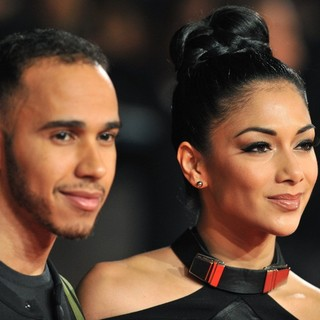 Lewis Hamilton, Nicole Scherzinger in Jack Reacher UK Film Premiere - Arrivals