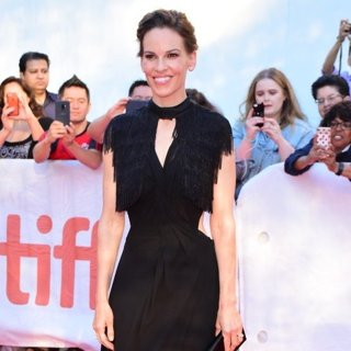 Hilary Swank in 43rd Toronto International Film Festival - What They Had - Premiere
