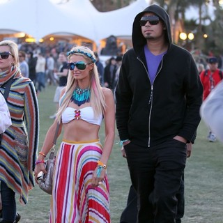 Celebrities at The 2012 Coachella Valley Music and Arts Festival - Day 2