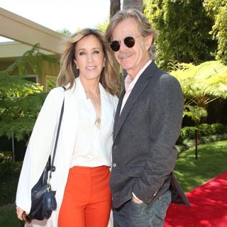 Felicity Huffman, William H. Macy in Eva Longoria's Hollywood Star Ceremony Post-Luncheon