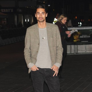 Hugo Taylor in Jack Reacher UK Film Premiere - Arrivals
