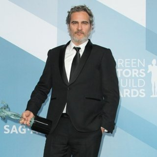 Joaquin Phoenix in 26th Annual SAG Awards - Press Room