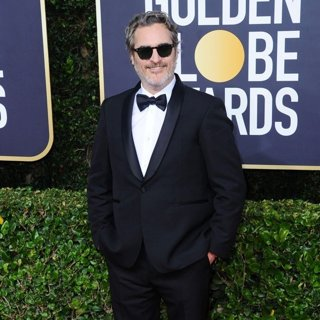 Joaquin Phoenix in 77th Annual Golden Globes - Arrivals