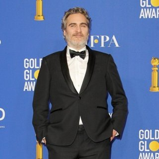 Joaquin Phoenix in 77th Annual Golden Globes - Press Room