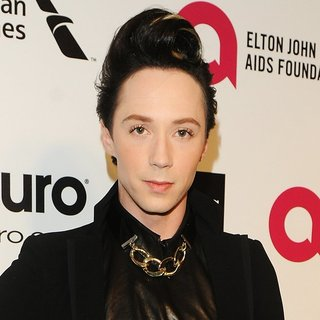 Johnny Weir in 22nd Annual Elton John AIDS Foundation Academy Awards Viewing Party - Arrivals