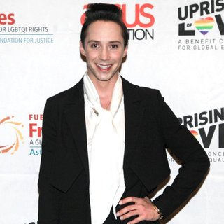 Johnny Weir in Uprising of Love Benefit Concert