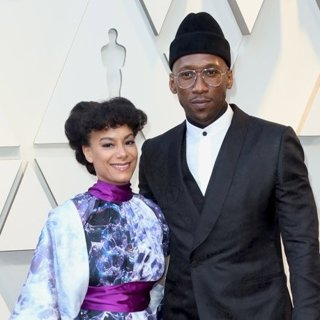 Amatus Sami-Karim, Mahershala Ali in 91st Annual Academy Awards - Arrivals