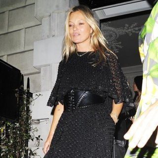 Kate Moss in Kate Moss Leaves Annabel's Club