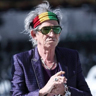 Keith Richards, The Rolling Stones in The Rolling Stones Attend A Photocall