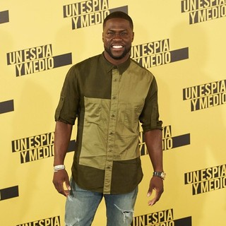 Kevin Hart in Central Intelligence Madrid Photocall