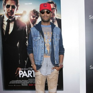 Kid Cudi in Los Angeles Premiere of The Hangover Part III
