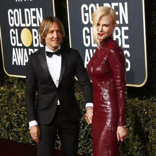 Keith Urban, Nicole Kidman in 76th Golden Globe Awards - Arrivals