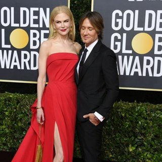 Nicole Kidman, Keith Urban in 77th Annual Golden Globes - Arrivals