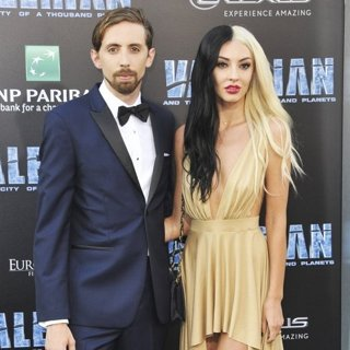 Eric Lampaert, Jordan Dwayne in Valerian and the City of a Thousand Planets Premiere