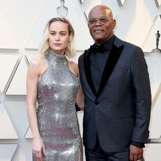 Brie Larson, Samuel L. Jackson in 91st Annual Academy Awards - Arrivals
