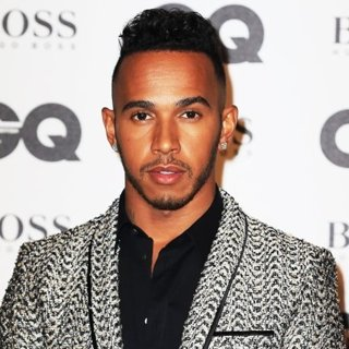 Lewis Hamilton in 2016 GQ Men of The Year Awards