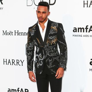 Lewis Hamilton in amfAR's 23rd Cinema Against AIDS Gala - Arrivals