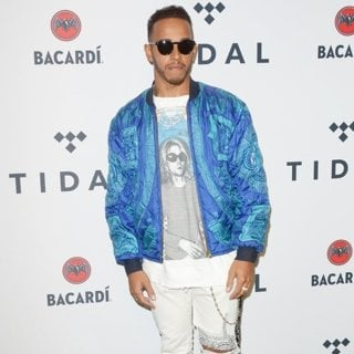Lewis Hamilton in TIDAL X Brooklyn 2017: Live on Tour - Red Carpet Arrivals