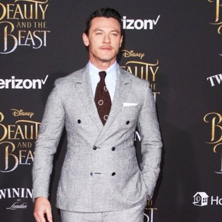 Luke Evans in Beauty and the Beast Premiere - Arrivals