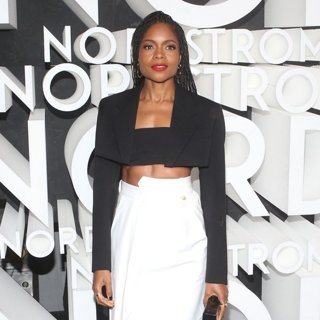 Naomie Harris in Nordstrom Flagship Opening Party