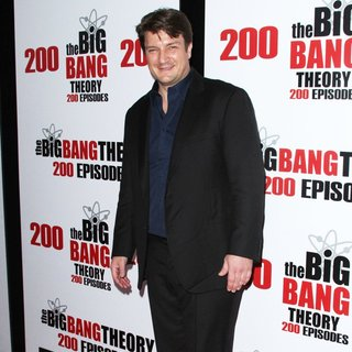 Nathan Fillion in The Big Bang Theory 200th Episode Party - Arrivals