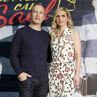 Bob Odenkirk, Rhea Seehorn in Better Call Saul Madrid Photocall - Arrivals