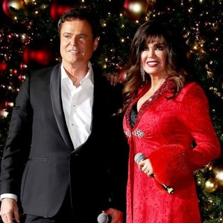 Donny and Marie Osmond Host The Annual Tree Lighting Celebration at The LINQ Promenade