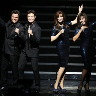 Donny Osmond and Marie Osmond Wax Figures