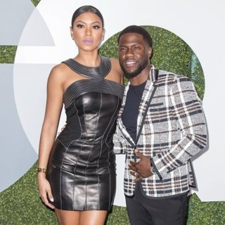 Eniko Parrish, Kevin Hart in GQ Men of The Year Party 2016 - Arrivals