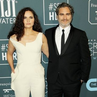 Rain Phoenix, Joaquin Phoenix in 25th Annual Critics Choice Awards - Arrivals