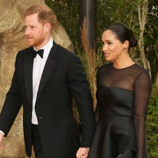Prince Harry, Meghan Markle in The European Premiere of The Lion King - Arrivals